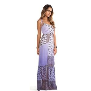 Gypsy 05 Maxi Dress NWT Sz Small Lavender Silk